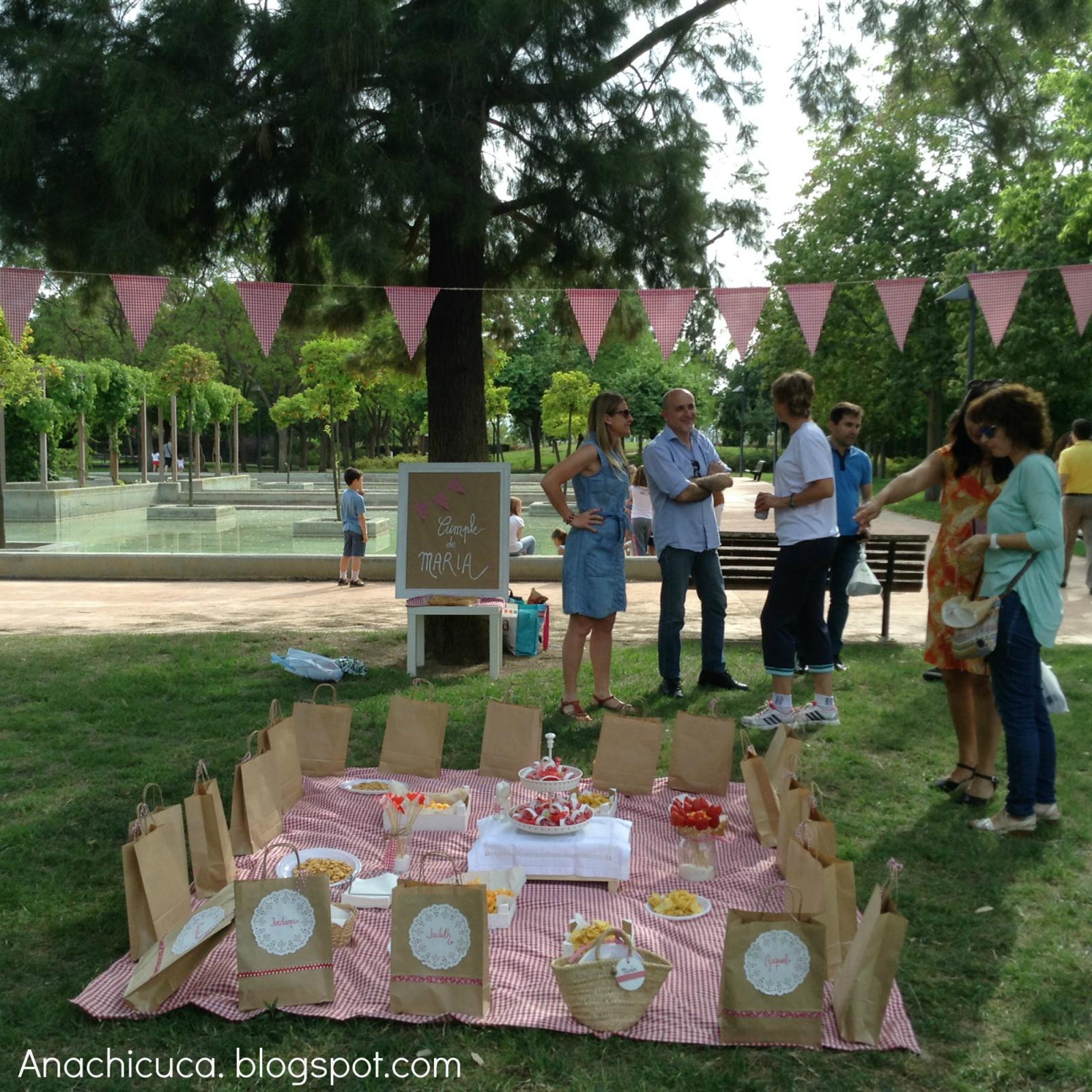 Anachicuca el picnic cumplea os de maria - Cumpleanos al aire libre ...