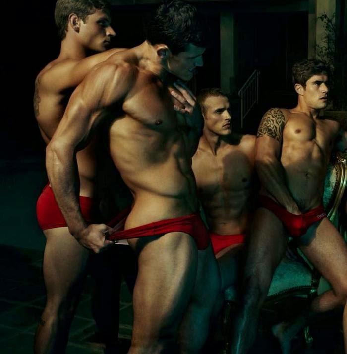 red gay hot gay foto