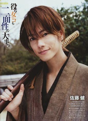 Takeru Sato as Rurouni Kenshin | nenghepi