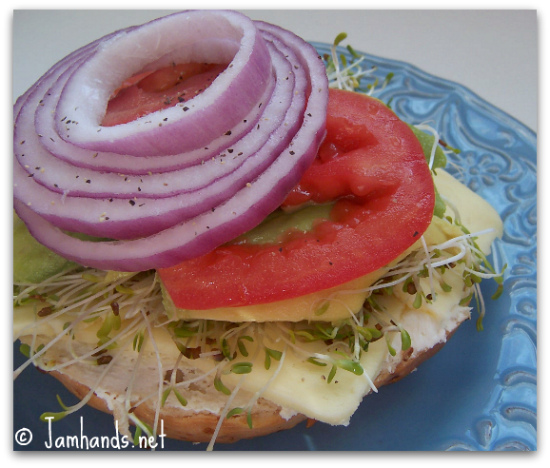 Jam Hands: My Favorite Veggie Sandwich