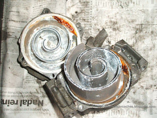 Compresor aire acondicionado espiral scroll Toyota Corolla