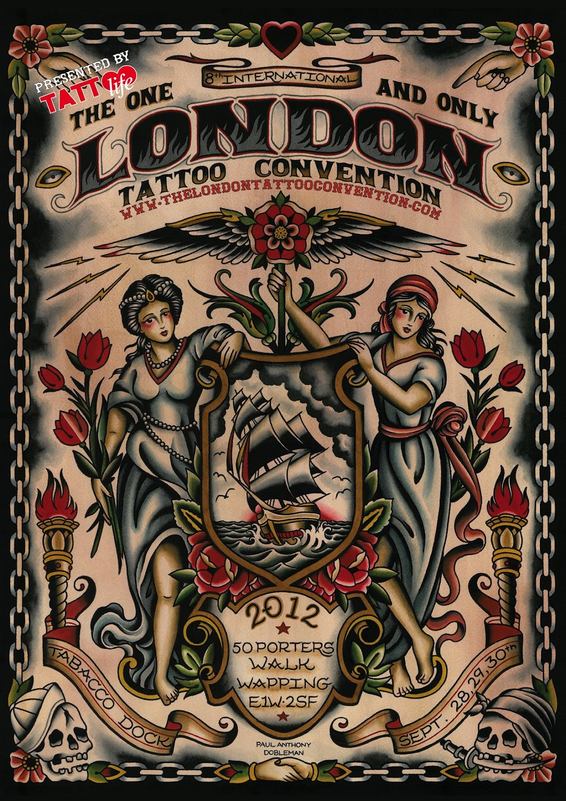 Little miss delicious london tattoo convention 2012 for Tattoo shops in london