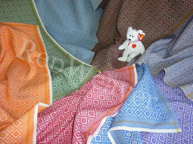 Wee Coverlets for Baby by RepWeaver