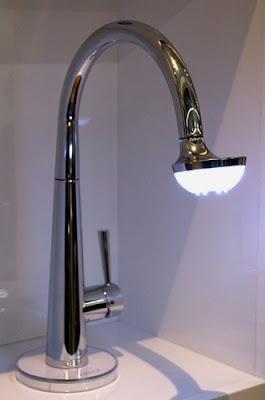 Nobili Spa Sun Lamp Faucet
