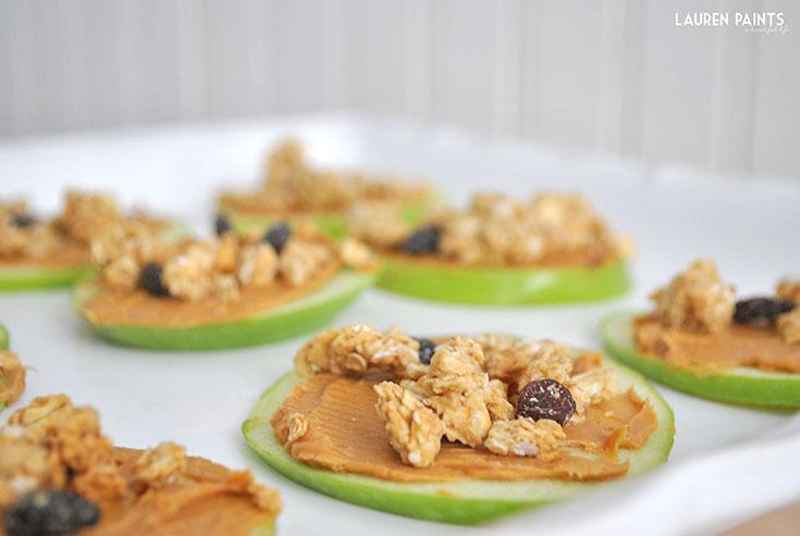 Apple, Peanut Butter, and Quaker® Simply Granola No-Bake ...