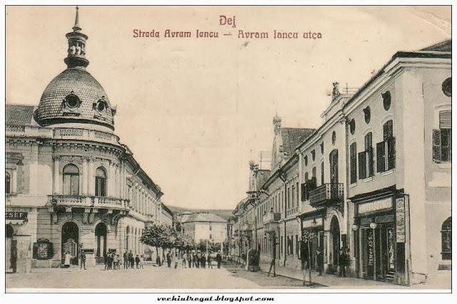 Strada Avram Iancu din Dej