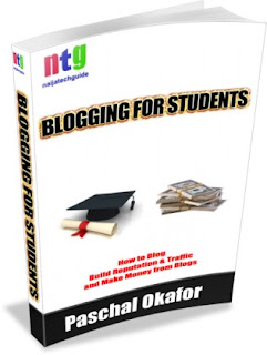 Blogging for Students e-book cover