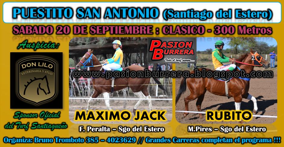 PUESTITO SAN ANTONIO - SABADO 20