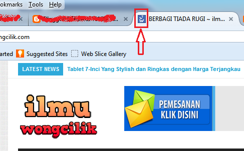 Cara Mudah Mengganti Icon Favicon Blogger