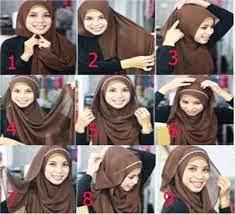 Gambar Cara Memakai Hijab Yang Baik