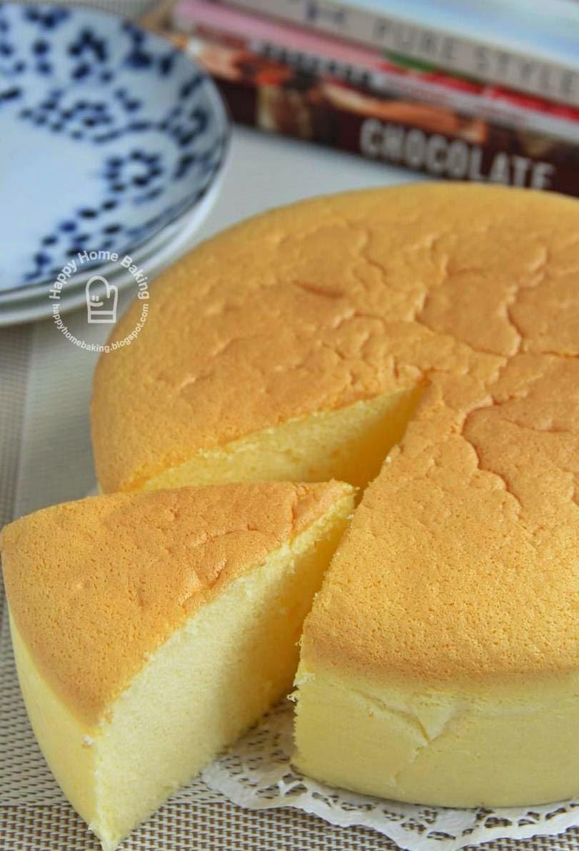 Japanese Souffle Cheesecake Cake