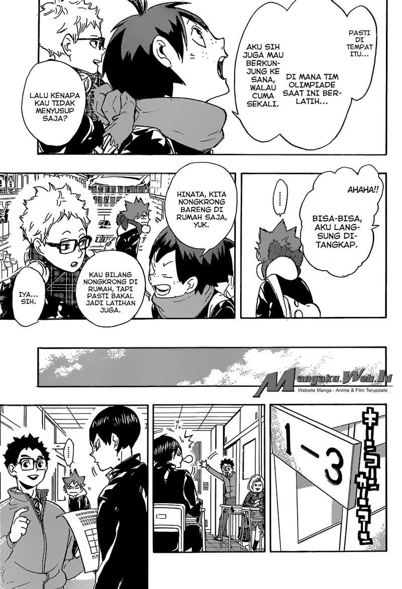 Haikyuu!! Chapter 208-11