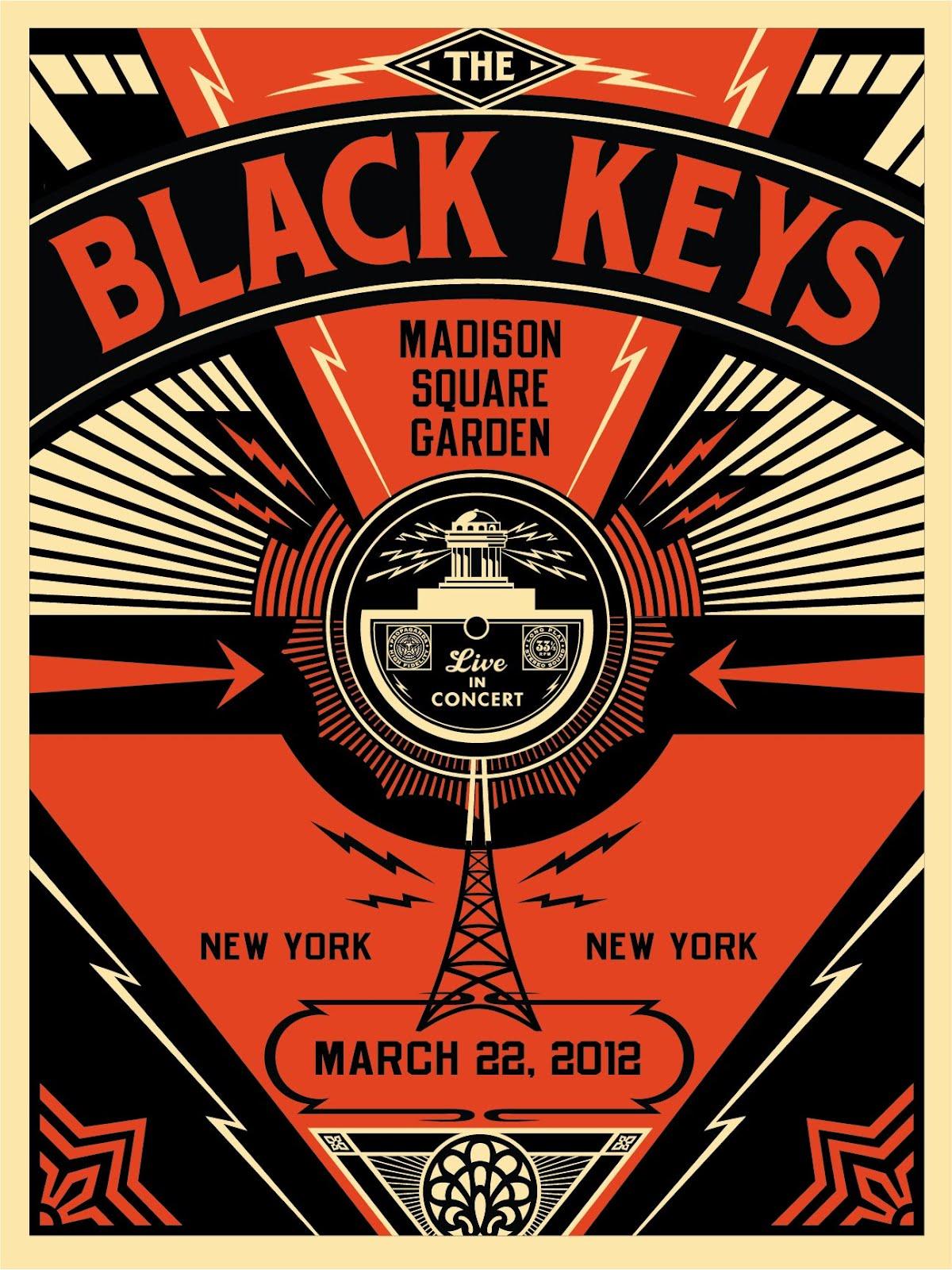Black Keys  Tour Poster