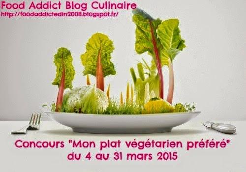Concours du blog Food Addict jusqu'au 31 mars
