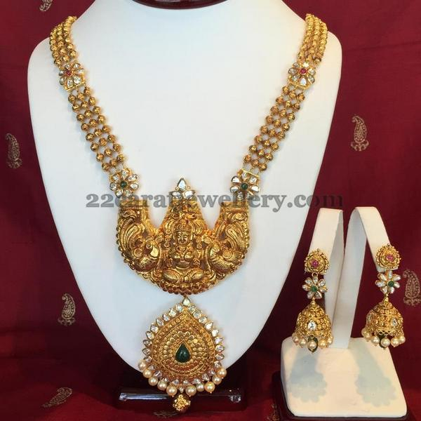 Nakshi Work Lakshmi Long Chain