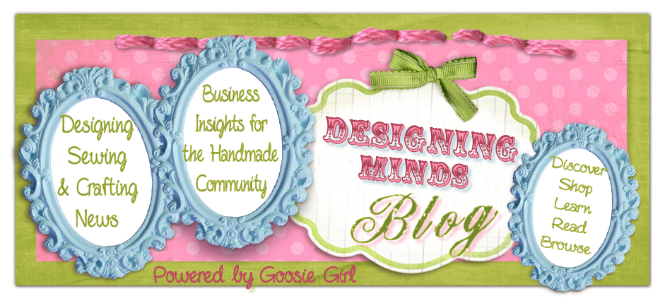 Designing Minds: Custom Boutique and Handmade Community Blog