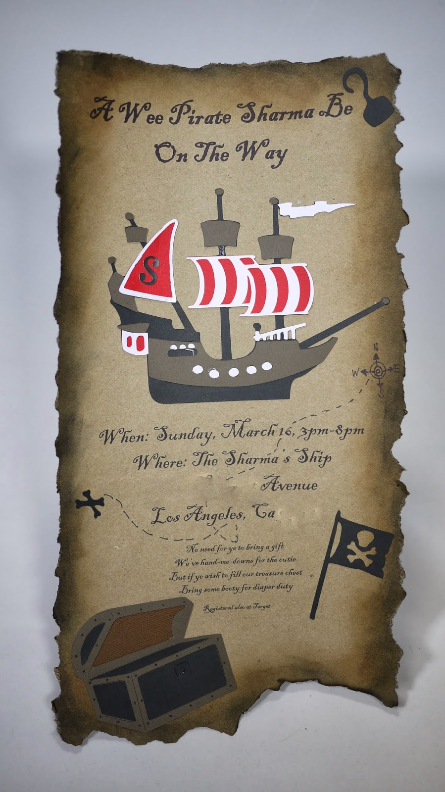 Pirate Baby Shower Invitations is one of our best ideas you might choose for invitation design