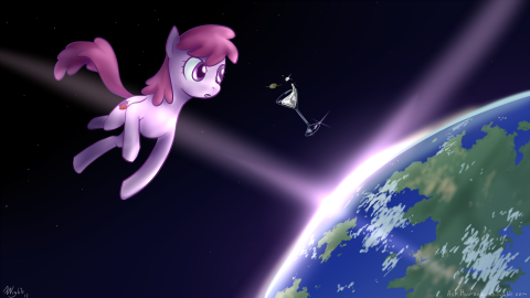 Berry Punch (Friendship is Magic) in Space
