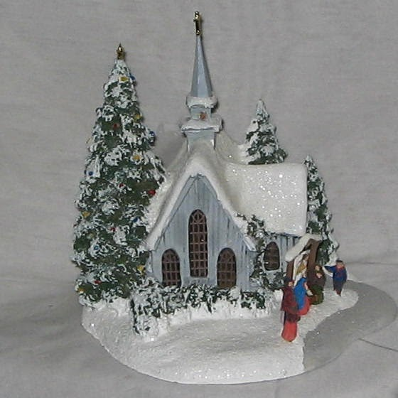 2007 Thomas Kinkade Country Chapel - Rare