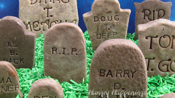 Add Clever Epitaphs Cookies Cream Fudge Tombstones This