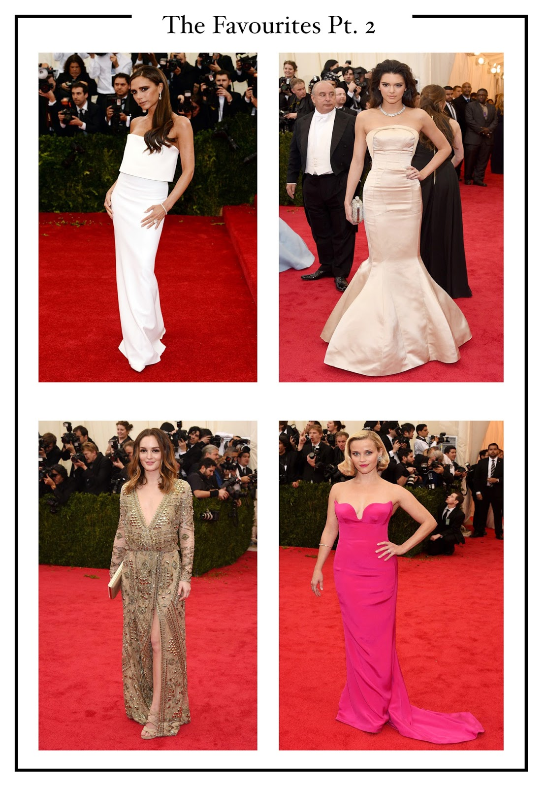 Met Gala 2014 Best Dressed