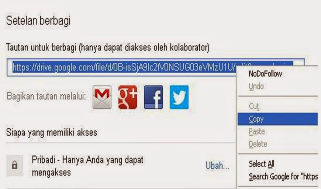 menyimpan file gratis di internet