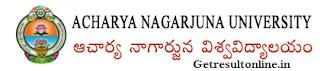 Acharya Nagarjuna University Result