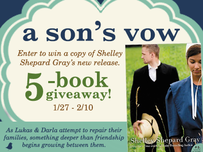 Enter to win a copy of A Son's Vow