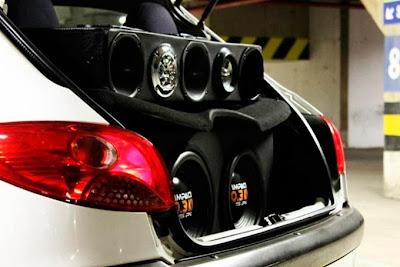 """Peugeot 206 Rebaixado + Rodas 17"""" + Som"""