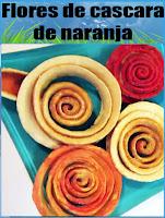 Tutorial: Flores hechas con cascara de naranja