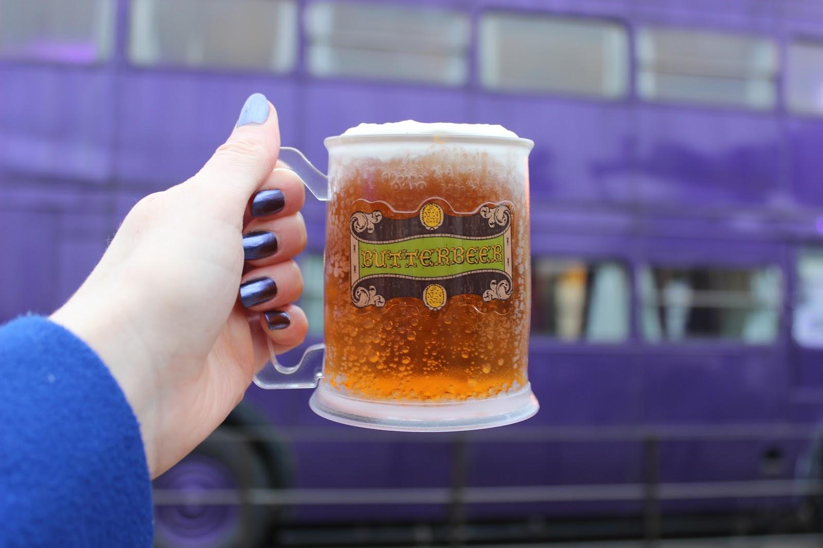 Harry Potter studio tour london butterbeer