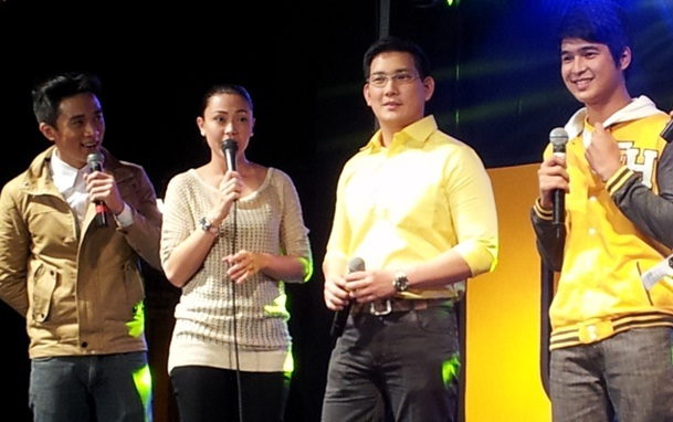 Jodi Sta. Maria, Richard Yap and Jerome Ponce most-applauded at the USTv Students Choice Awards Kick-Off party