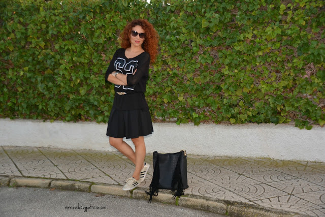 So chic by Patricia_Black Sporty Look