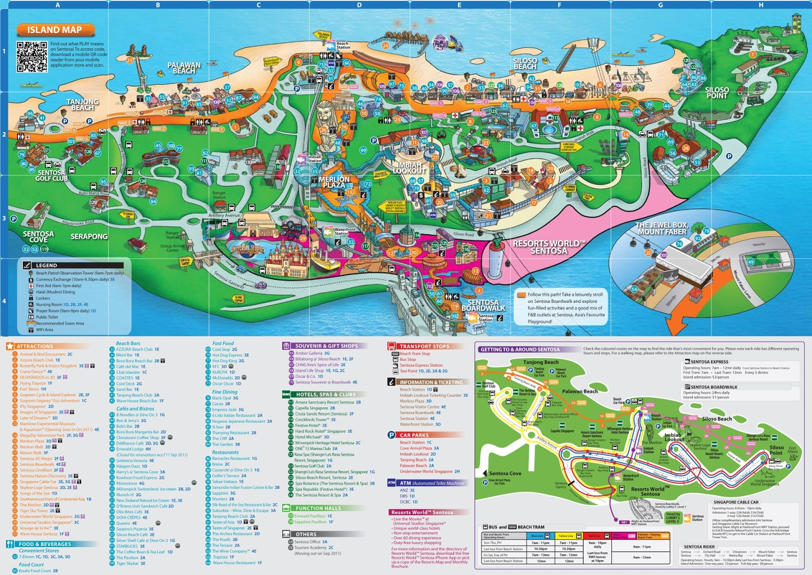 how to get to sentosa from harbourfront mrt
