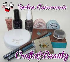 Sorteo Aniversario Crafts&Beauty