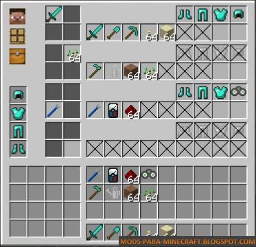 Configuración del mod Gear Swapper Minecraft 1.7.10