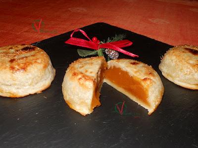 Mazapán con dulce de boniato.