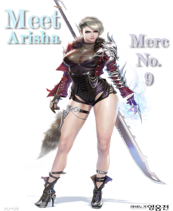 Meet Arisha - Magic Slayer