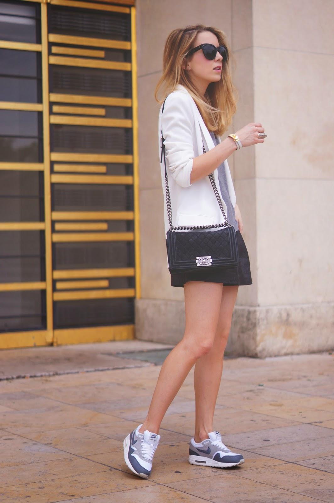 streetstyle, fashion blogger, nike, isabel marant, chanel