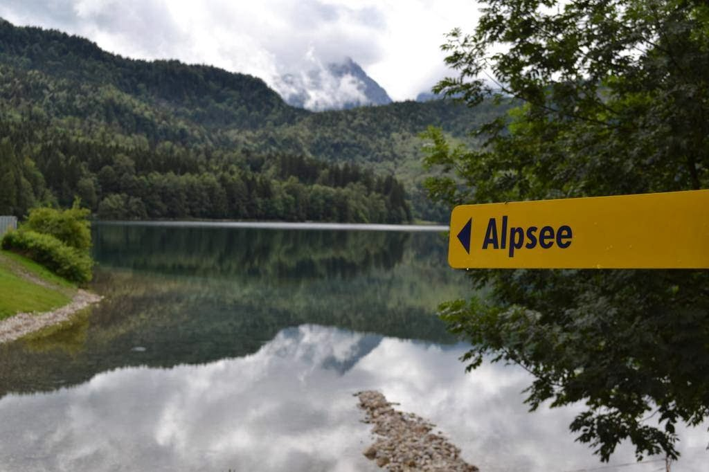 Alpsee Lake castle