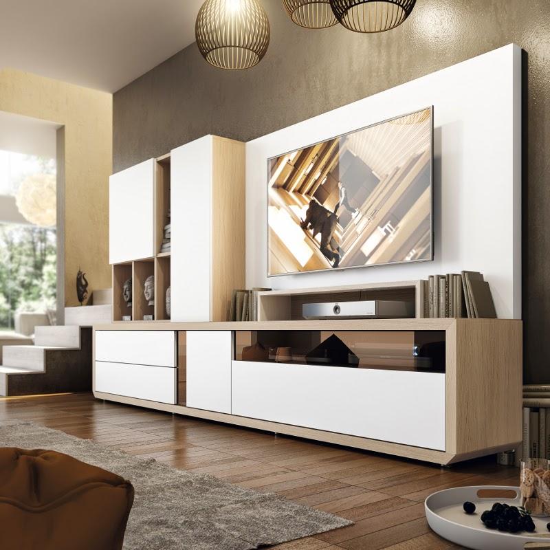 Fotografias de muebles de salon modernos - Comedor salon moderno ...