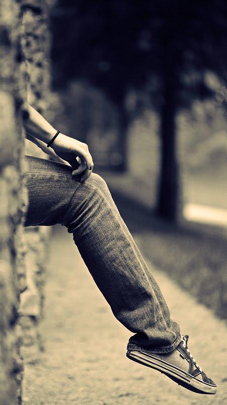 عکس مرد عاشق و تنها