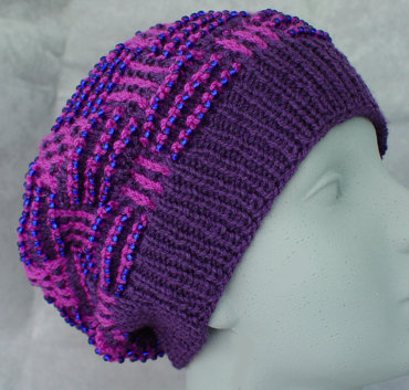 Knitting Patterns Free Ladies Hats : free knitting pattern: womens knit beret models