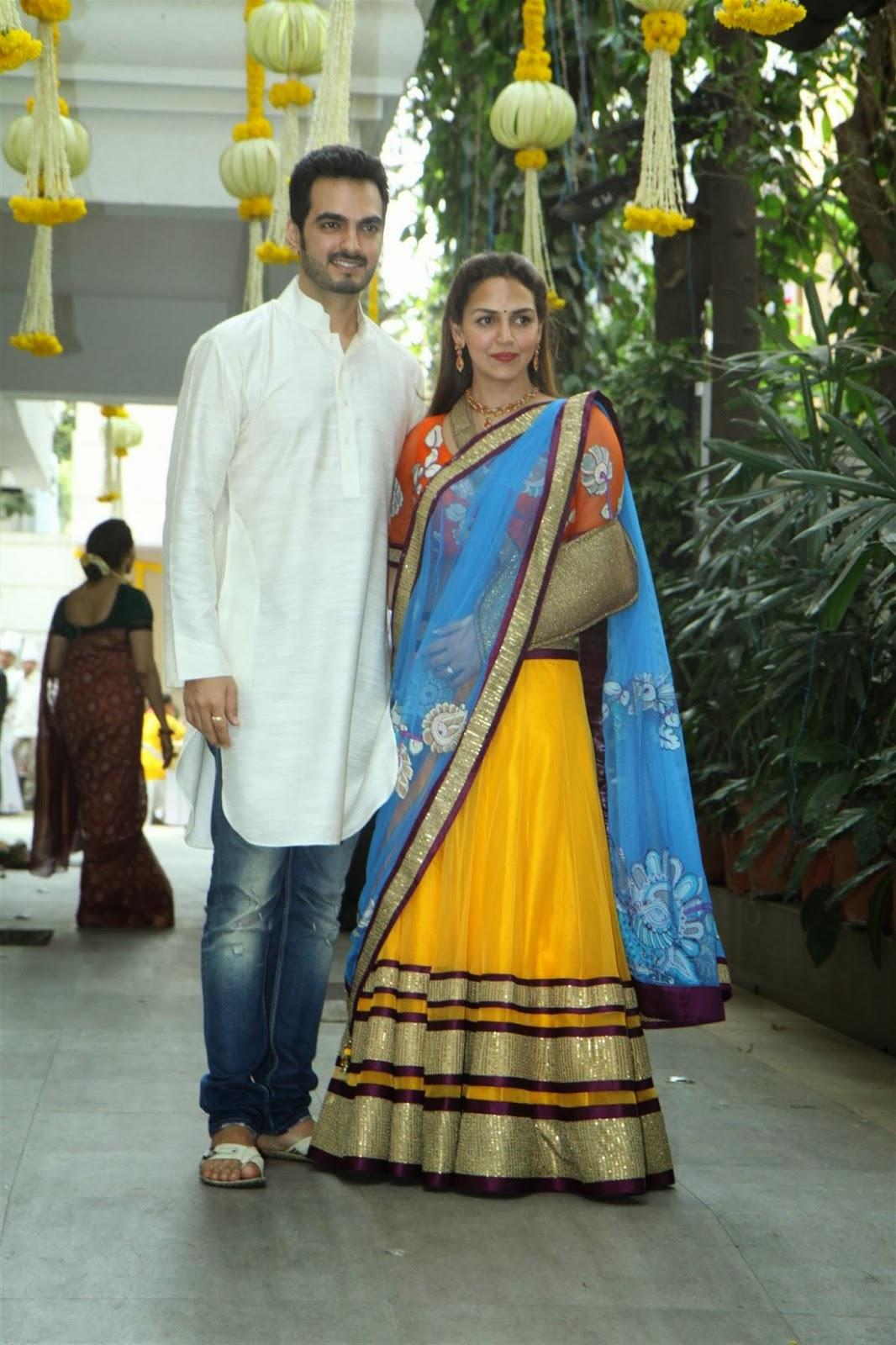 Ahana Deol's Mehendi ceremony