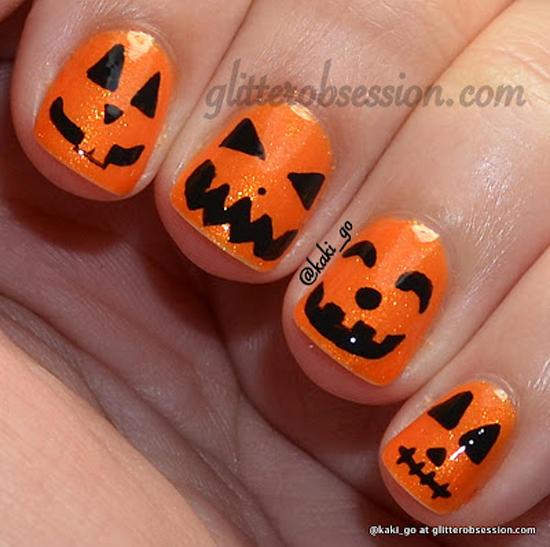 nail art ideas halloween