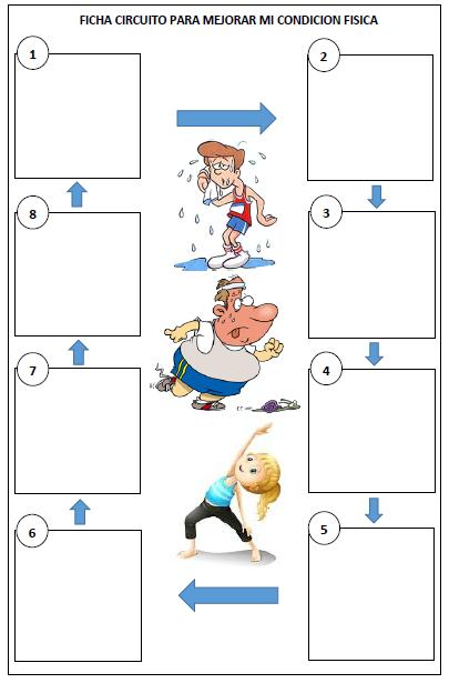Circuito Fisico : EducaciÓn fÍsica colmedalla chaparral tolima el circuito