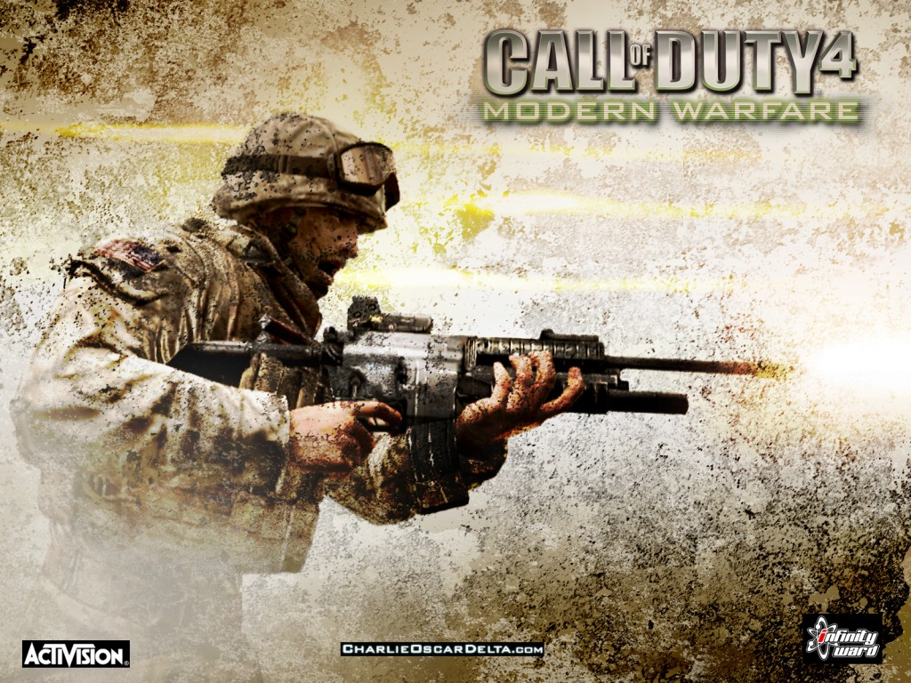Call of Duty 4 Wallpaper : Modern Warfare call of duty 2 call of duty 6