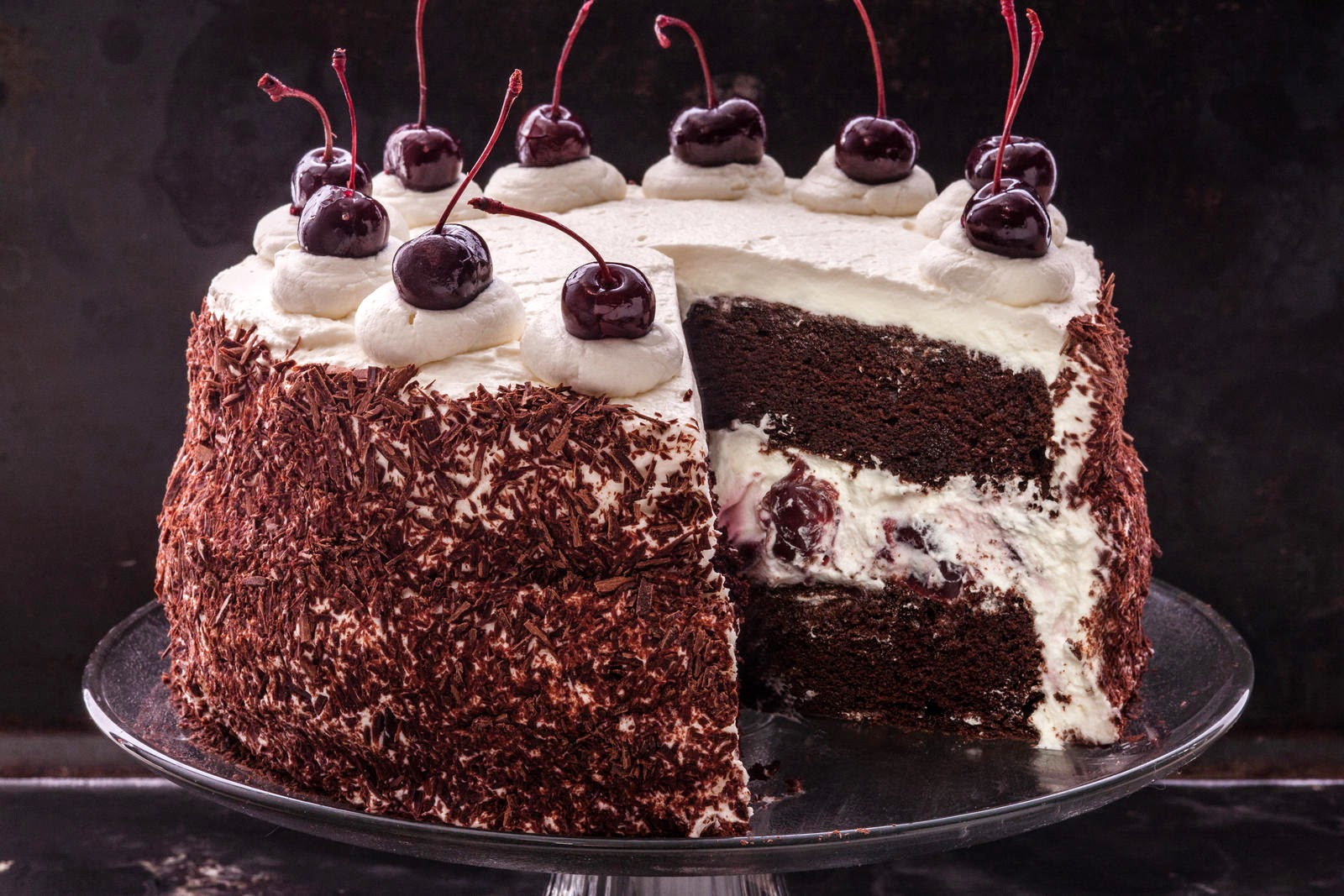 Black Forest Cake - Recipe ~ Good Cake Food