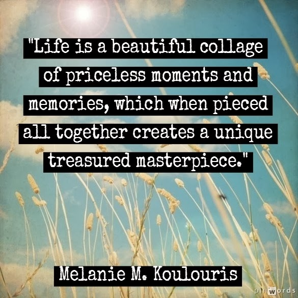 Marvelous Life Is A Beautiful Collage Of Priceless Moments And Memories.