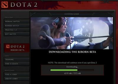 Cara Cepat Download Dan Install Dota 2 Reborn Terbaru